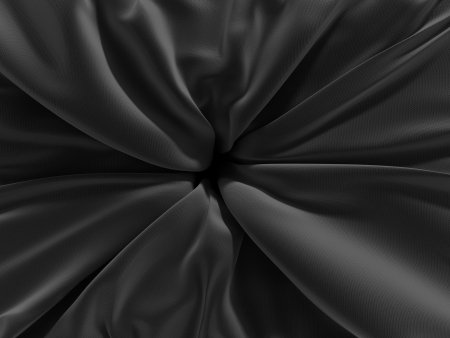 luster: black centered textile texture