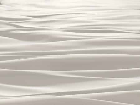 seidenstoff: elfenbeinwei� wellige weiche Textil-Hintergrund
