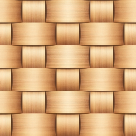 abstract natural wood wicker background  photo