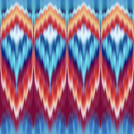 coral snake: abstract ethnic seamless fashion pattern background Stock Photo