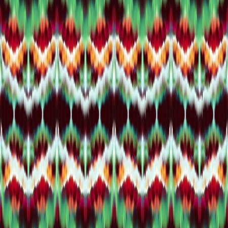 kaleidoscope: abstract modern ethnic seamless fabric pattern