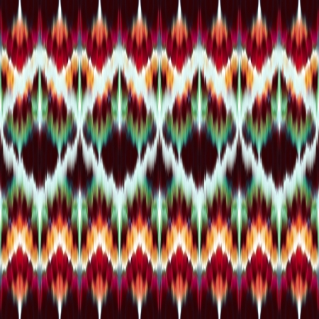 ethnic mix: abstract modern ethnic seamless fabric ornament