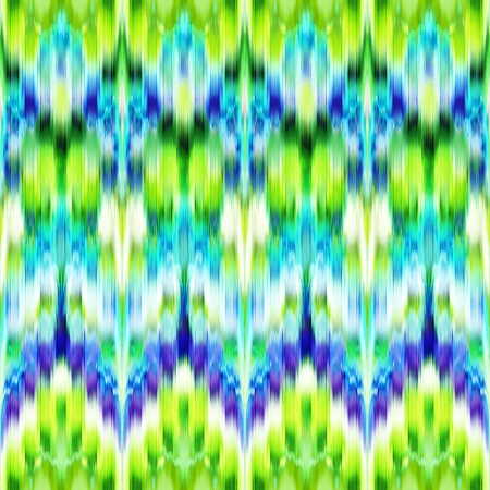 abstract intricate ethnic ikat seamless pattern background photo