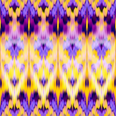 abstract intricate indian ethnic ikat seamless pattern background photo