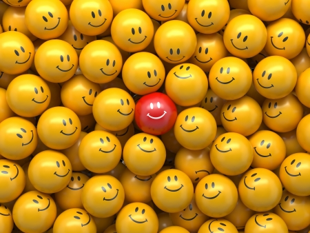 demografia: 3d abstracto de negocio de información de antecedentes, las bolas con los símbolos