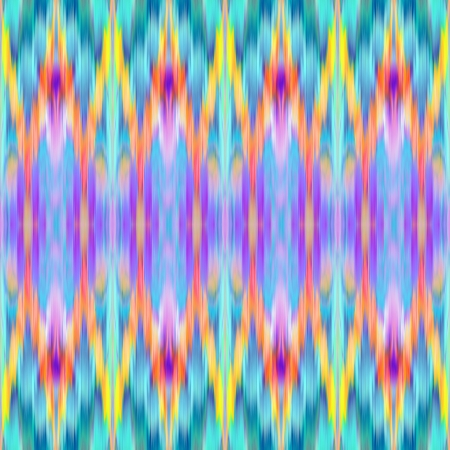 ikat: multicolor intricate ikat ethnic seamless pattern