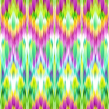 textiles: abstract ethnic background; intricate ikat seamless pattern Stock Photo