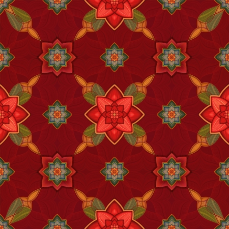 abstract seamless pattern background, Christmas gift wrapping paper photo