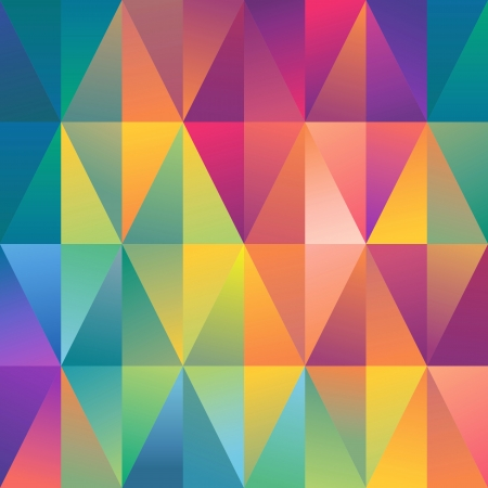 vibrant colors fun: astratto intricato fondo, modello geometrico spettro