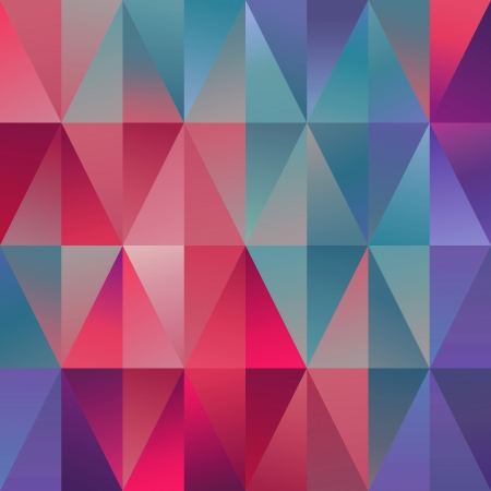 abstract triangle background, geometric spectrum pattern