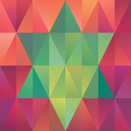 abstract triangle background, geometric pattern, star symbol photo