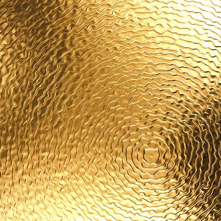 3d abstrakt Gold Metall Hintergrund, goldene metallische Textur Standard-Bild - 32276028