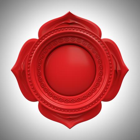 Red Muladhara Wurzel oder Basis-Chakra Basis, 3d abstrakt Symbol, isoliert Farbe Designelement Standard-Bild - 39076526
