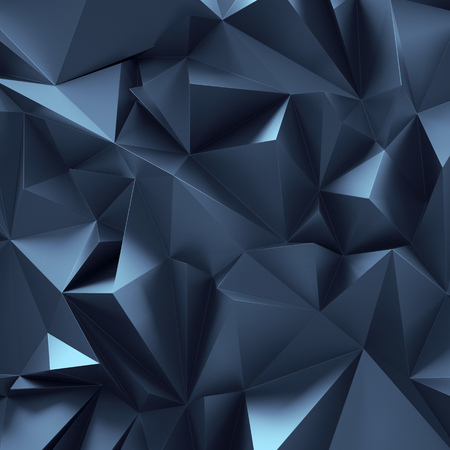 crystal background: 3d abstract crystal background, black metallic wallpaper