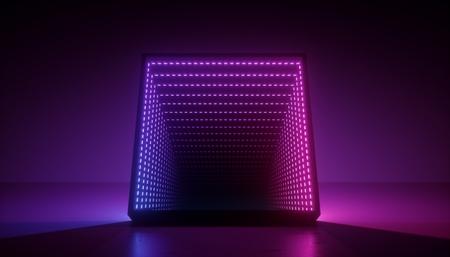 Colorful illumination geometric