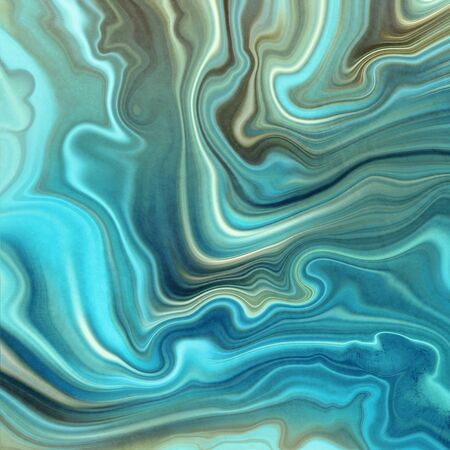 Abstract turquoise blue onyx jade agate or marble slab