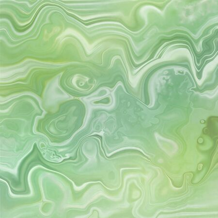 Abstract marble slab with wavy lines