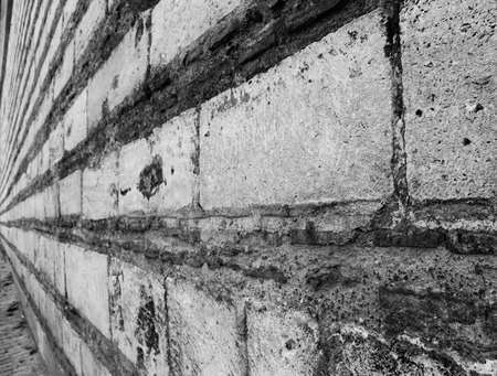 endless: Endless wall in black and white