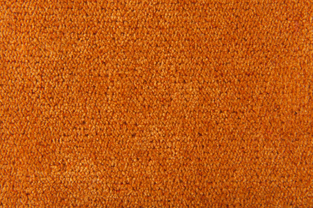 carpeting: fabric texture orange carpeting for background