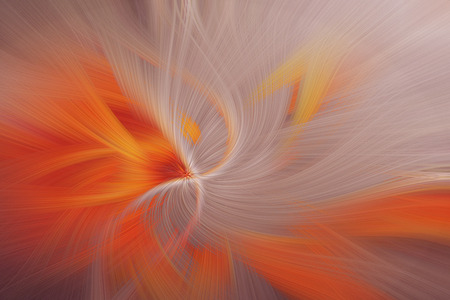 Fine art abstract background. Purple and orange swirl pattern.