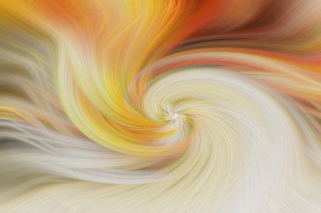 Fine art abstract background. Yellow and orange swirl pattern. Stock Photo