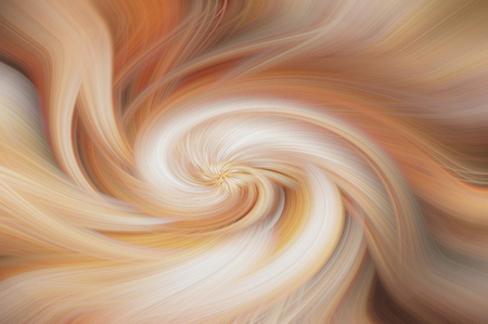 Fine art abstract background. Brown and white swirl pattern. Stock Photo