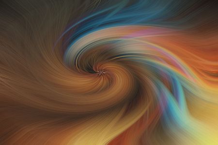 Fine art abstract background. Multi colored swirl fantasy pattern.