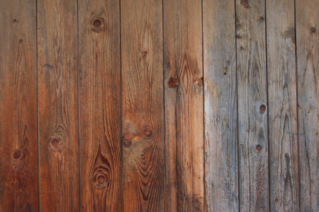 Old brown wooden planks texture for background Stock Photo