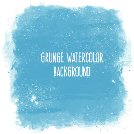 grunge banner: Abstract artistic elegant classic vector watercolor spot hand painted background. Copy text template. Spring summer colors. . Isolated. Grunge texture. Artist collection.