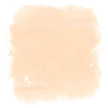 durazno: Pintado artístico elegante clásico vector de la acuarela mancha mano Fondo abstracto. Copie plantilla de texto. Colores de primavera verano. . Aislado. Textura Grunge. Colección del artista. Vectores