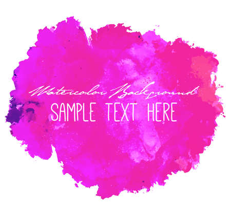 splatter paint: Abstract artistic elegant classic vector watercolor spot hand painted background. Copy text template. Spring summer colors. . Isolated. Grunge texture. Artist collection.