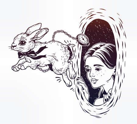 Alice in Wonderland icon.