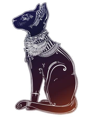Illustration of Egyptian cat