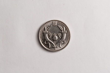 sheqalim: 2 sheqalim coin  Back side