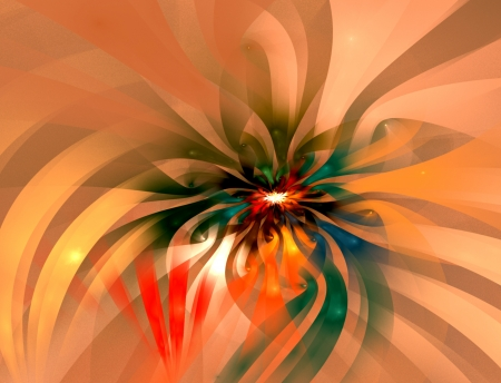 Abstract fractal background suitable for business and birthday cards, art projects, banners and brochures  Stock Photo