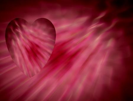 대조적 인 배경에 겹쳐 진 아름 다운 붉은 마음 세인트 발렌타인 데이 카드, 봄 또는 여름 테마, 또는 생일 카드 및 기타 낭만적 인 축제에 적합합니다.