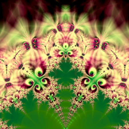 Fractal background suitable for business and birthday cards, art projects, banners or brochures