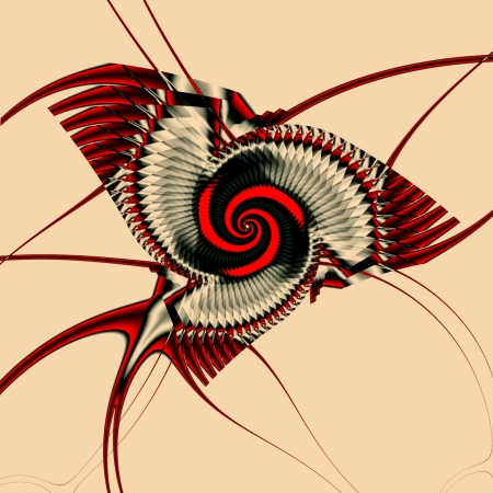chaos: Fractal background suitable for business and birthday cards, art projects, banners or brochures