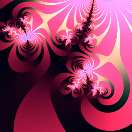 Creative fractal design element suitable for business and birthday cards, art projects, banners or brochures