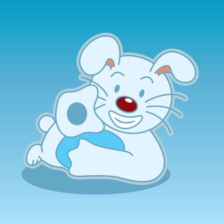 buoyant: Rabbit cartoon character