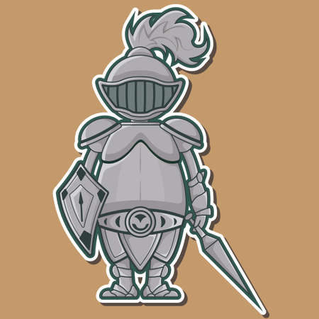 swordsman: Cute Knight Design