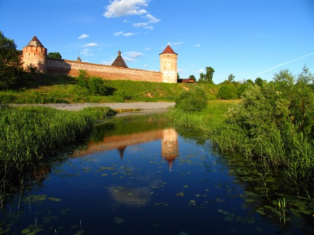 tranquille: Monastery of St  Euthymius at Suzdal, Russia