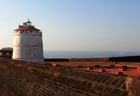 aguada: Fort Aguada, Goa, India Stock Photo