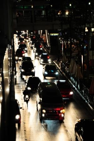 trafic: Bangkok trafic Stock Photo