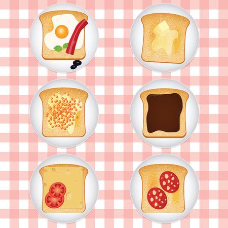 tasty: Set icons different tasty toasts.