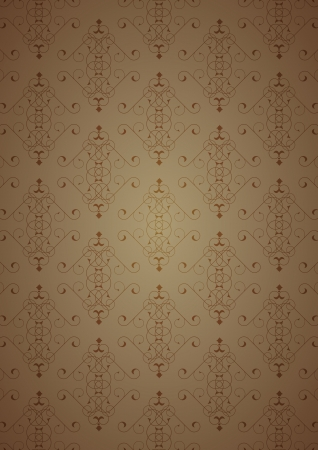 Brown little background Vector