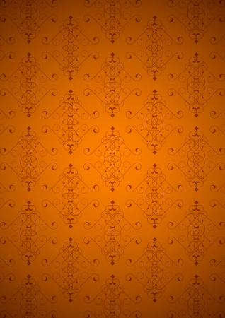 Orange little background Vector