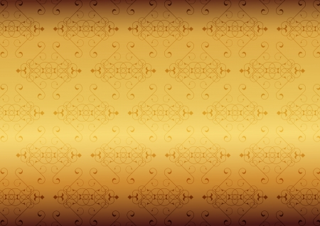Golden little background Vector
