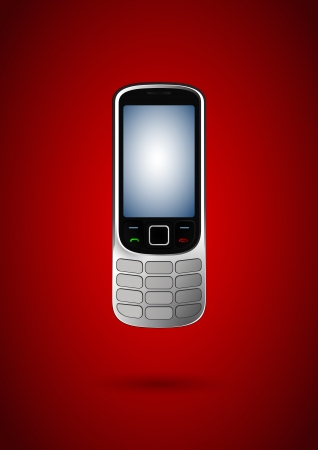 Cell phone and technology Vector