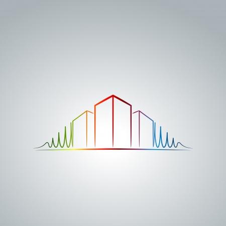Apartment logo Illustration